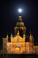 1534 - Uspenski Cathedral supermoonset