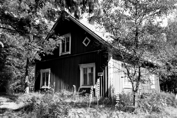 1468 - Old house II bw
