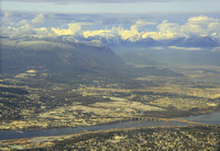 Vancouver from the plane 2