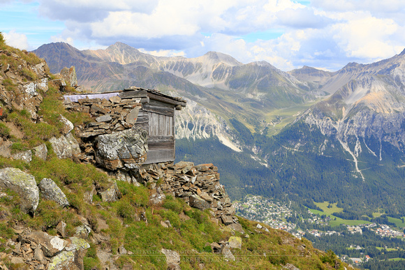 1773 - Perfect vantage point on Piz Danis